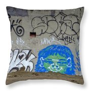 Cave Paintings Throw Pillow