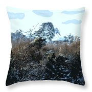 Cavehill In The Snow 2 Throw Pillow