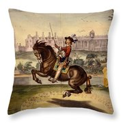 Cavendish Performing Volte Throw Pillow