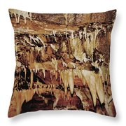 Cavern Beauty Throw Pillow