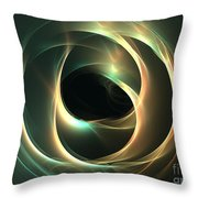 Cavern Throw Pillow