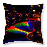 Cd Art 3 Throw Pillow