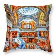Ceasar's New Palace Throw Pillow