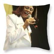 Cece Peniston Throw Pillow