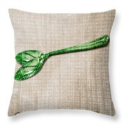 Ceci N'est Pas Une Cuillere By Neo Throw Pillow