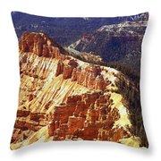 Cedar Breaks Utah Throw Pillow