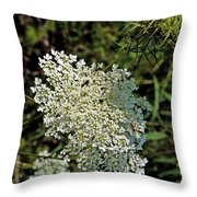 Cedar Flower One Throw Pillow