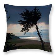Cedar Silhouettes Throw Pillow
