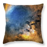 Cederblad 214 Emission Nebula Throw Pillow