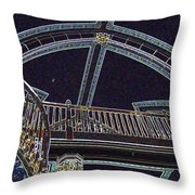 Ceiling In Lights Throw Pillow