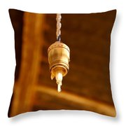 Ceiling Light Throw Pillow