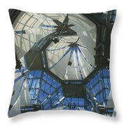 Ceiling Sails Throw Pillow