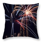 Celebrate Throw Pillow