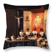 Celebrating God Throw Pillow