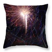 Celebration Fireworks Grand Lake Co 2007 Throw Pillow