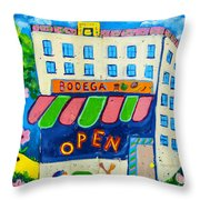 Celebration Hoboken #3 Throw Pillow