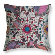 Celebration Of Design Throw Pillow
