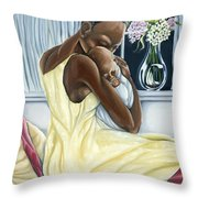 Instinctual Throw Pillow
