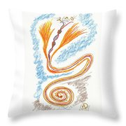 Express Your Passion Throw Pillow