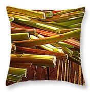 Celery In The Sun Throw Pillow
