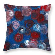 Celestial Bouquet Throw Pillow