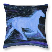Celestial By Jrr Throw Pillow by First Star Art
