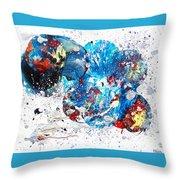 Celestial Chaos Throw Pillow