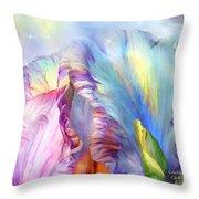 Celestial Goddesses Throw Pillow