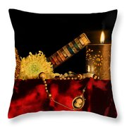 Celestial Solitude Throw Pillow by Ankeeta Bansal