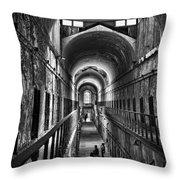 Cell Block 5 Throw Pillow