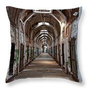 Cell Block One Throw Pillow