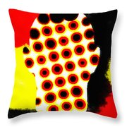 Cell Electrodes Throw Pillow
