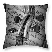 Cello Classic Art Throw Pillow