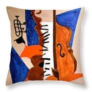 Cello II Throw Pillow