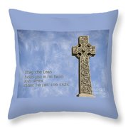 Celtic Blessing 2 Throw Pillow