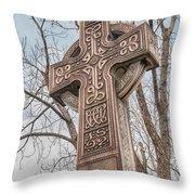 Celtic Cross   3d22463 Throw Pillow