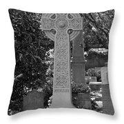 Celtic Cross - Charleston South Carolina Throw Pillow