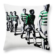 Celtic Fc Throw Pillow