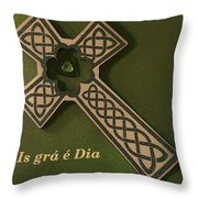 Celtic Love Throw Pillow