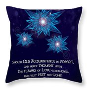 Celtic New Year Throw Pillow