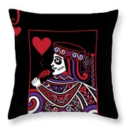 Celtic Queen Of Hearts Part Iv The Broken Knave Throw Pillow