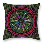 Celtic Sleeping Beauty Part I The Gifts Throw Pillow