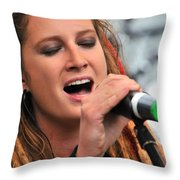 Celtica's Josy Svajda Throw Pillow
