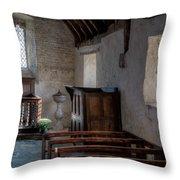 Celynnin Church Throw Pillow