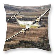 Cemair Beech 1900 Plane Airplane Flying Flight Throw Pillow
