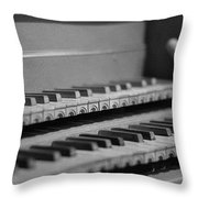 Cembalo Keyboards Throw Pillow