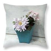 Cemetary Flowers 3 Throw Pillow