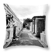 Cemetery Departed Throw Pillow