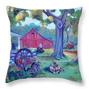 Centennial Morning Throw Pillow