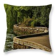 Centennial Park Throw Pillow
